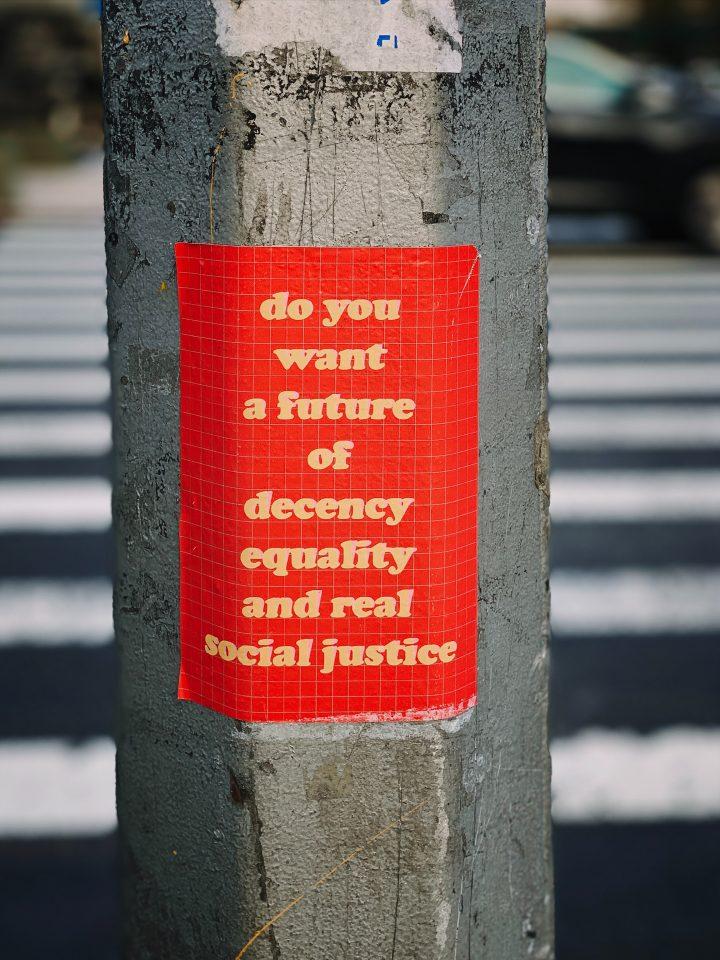 Abbiamo l'opportunità di creare una società più forte e più equa
