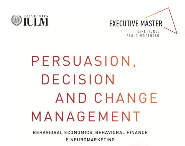 "aBetterPlace è sponsor del Master Executive IULM ""Persuasion, Decision and Change Management"""